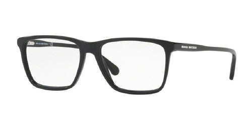 7pm view of Brooks Brothers Eyeglasses - FUN ABOUT TOWN BB2037 6000 55 BLACK CLEAR DEMO LENS Men's Square Full Rim