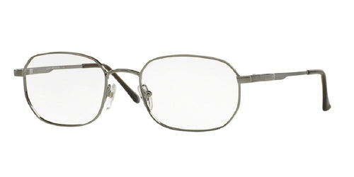 7pm view of Brooks Brothers Eyeglasses - Stylish Square BB 222 1150 52 GUNMETAL CLEAR DEMO LENS Men's Full Rim