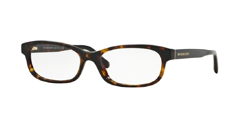 9014cae1a316 7pm view of Burberry Eyeglasses - HERITAGE BE2202 3002 54 DARK TORTOISE  HAVANA CLEAR DEMO LENS
