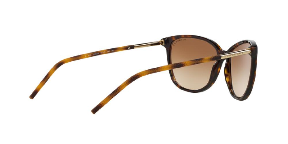99ea0d534311 1pm view of Burberry Sunglasses - ACOUSTIC CAT EYE BE4180 300213 57 GRADIENT  DARK TORTOISE HAVANA
