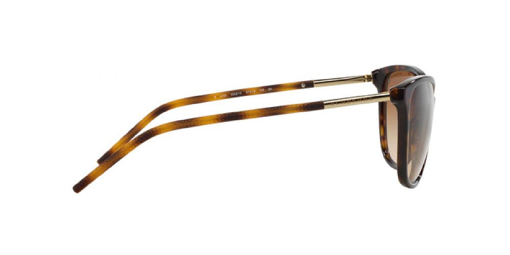 9175b20c81eb 12pm view of Burberry Sunglasses - ACOUSTIC CAT EYE BE4180 300213 57  GRADIENT DARK TORTOISE HAVANA