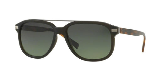 7pm view of Burberry Sunglasses - TAILORING BE4233 3620T4 57 POLARIZED GRADIENT MATTE GREEN Men's Square Full Rim