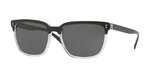 7pm view of Burberry Sunglasses - FUN ABOUT TOWN BE4255 30295V 56 TOP BLACK ON CRYSTAL GREY Men's Square Full Rim