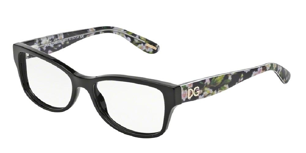 3a6ce5255f1c 7pm view of Dolce   Gabbana Eyeglasses - ALMOND FLOWERS CATWALK CAT EYE  DG3204 2846 53 ...