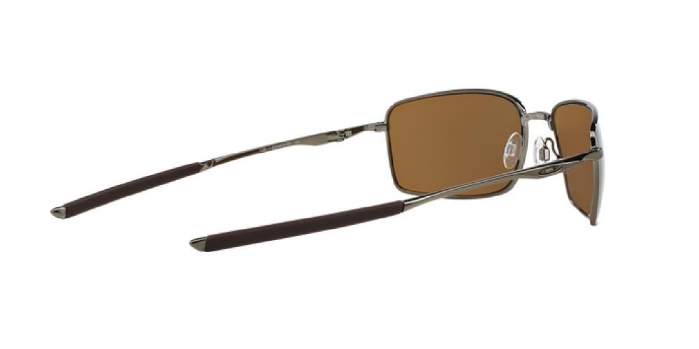 3fb9862eb0c 1pm view of Oakley Sunglasses - SQUARE WIRE OO4075 407506 60 GOLD POLARIZED  MIRROR TUNGSTEN BRONZE