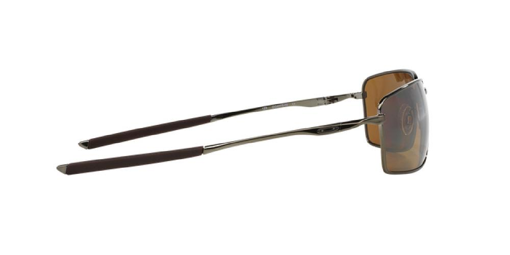 adc94438c18 12pm view of Oakley Sunglasses - SQUARE WIRE OO4075 407506 60 GOLD  POLARIZED MIRROR TUNGSTEN BRONZE