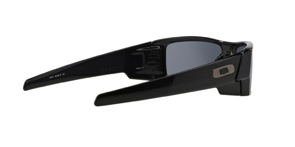 8bcd511d5a 1pm view of Oakley Sunglasses - GASCAN OO9014 03-471 60 POLISHED BLACK GREY  Men s