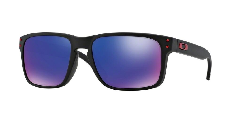 e3758be1a2 ... hot 7pm view of oakley sunglasses holbrook oo9102 910236 55 mirror matte  black positive red iridium