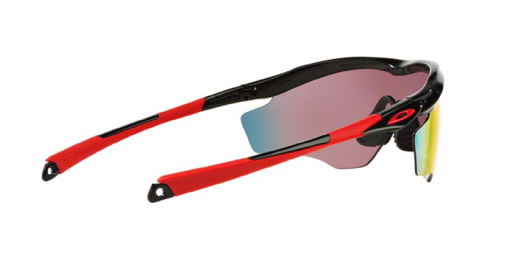 cda3e16893 1pm view of Oakley Sunglasses - M2 FRAME XL OO9343 934308 45 POLISHED BLACK  PRIZM ROAD