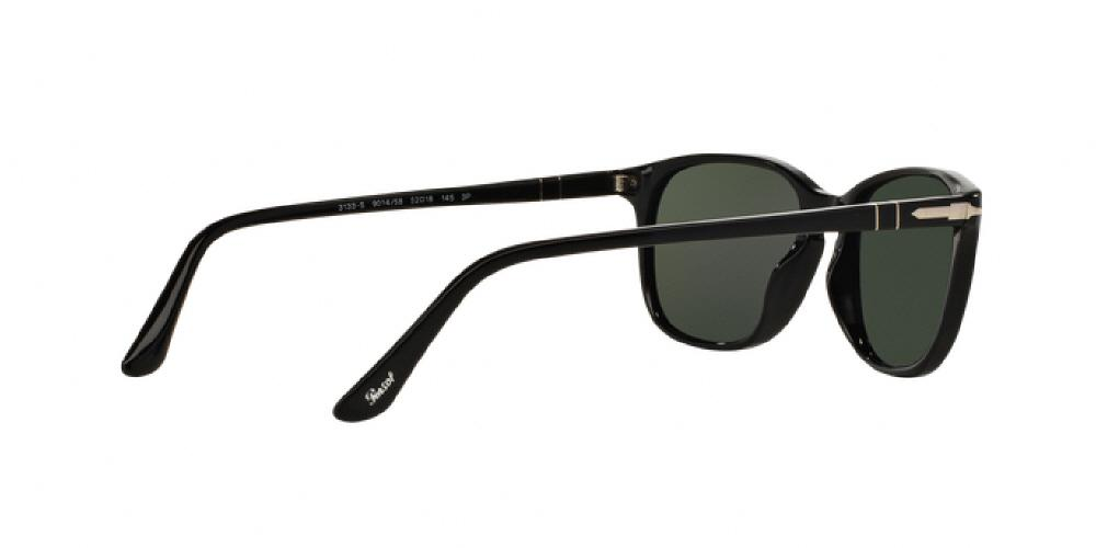 ad75f2b5f7 1pm view of Persol Sunglasses - GALLERIA PO3133S 901458 52 BLACK POLARIZED  GREEN Men s   Women s