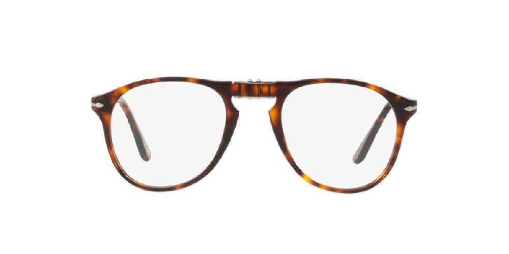 c09fac3400 3pm view of Persol Eyeglasses - FOLDING AVIATOR ICONA(PO) PILOT PO9714VM 24  52