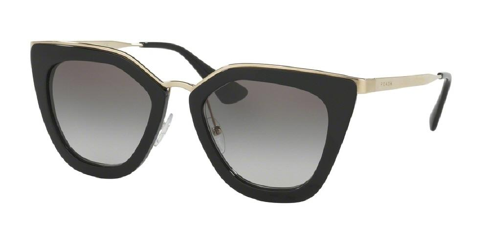 7pm view of Prada Sunglasses - FUN ABOUT TOWN CAT EYE PR 53SS 1AB0A7 52 GRADIENT BLACK GREY Women's Full Rim Butterfly
