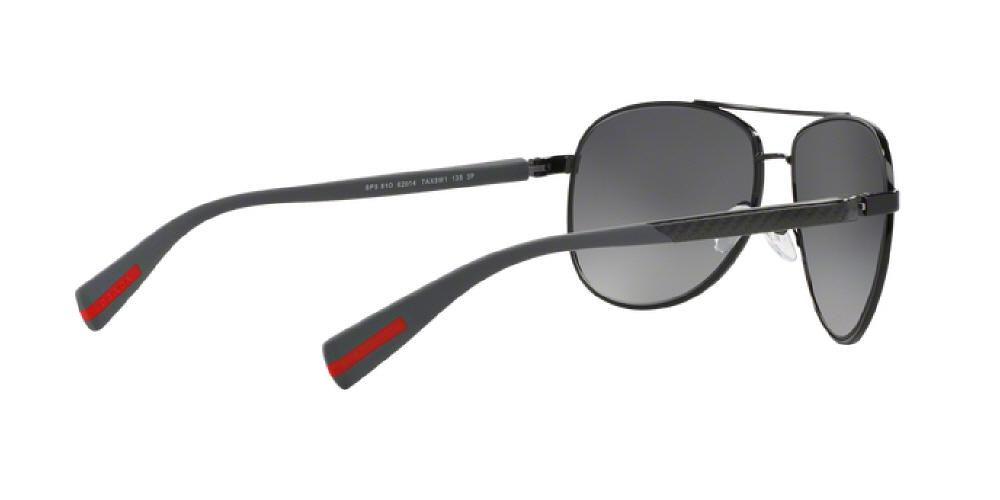 f57b70d663 1pm view of Prada Linea Rossa Sunglasses - NETEX COLLECTION AVIATOR PS 51OS  7AX5W1 62 POLARIZED