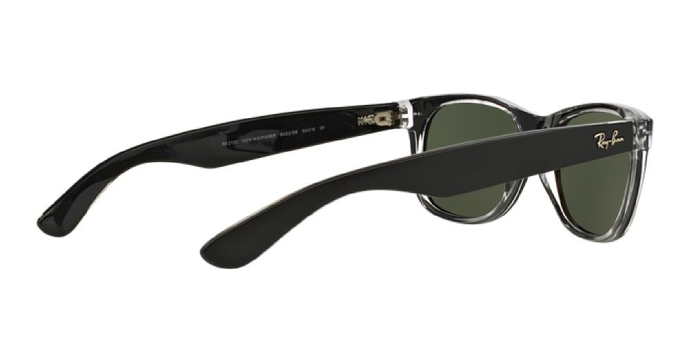 82ef1e065f 1pm view of Ray-Ban Sunglasses - NEW WAYFARER ICONS RB2132 605258 55  POLARIZED TOP