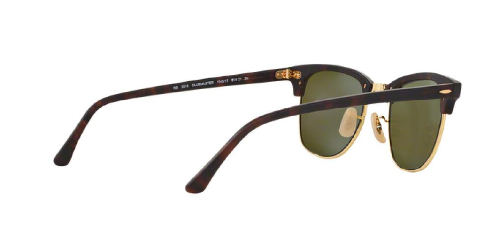 9481ce32e2 1pm view of Ray-Ban Sunglasses - CLUBMASTER ICONS RB3016 114517 49 GOLD MIRROR  SAND