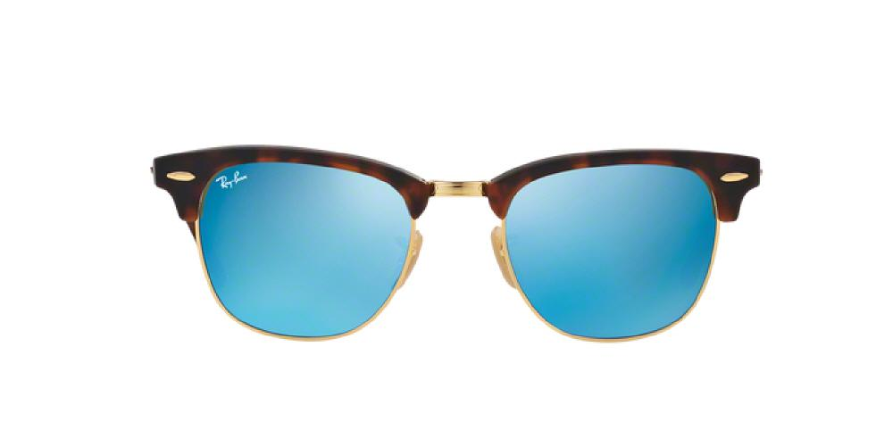 d616f60161 3pm view of Ray-Ban Sunglasses - CLUBMASTER ICONS RB3016 114517 49 GOLD MIRROR  SAND