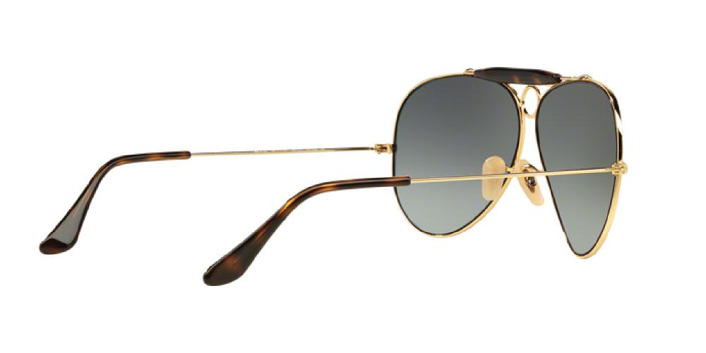 0c3f78d1901e3 ... spain 1pm view of ray ban sunglasses shooter icons aviator rb3138 181  71 62 d4f75 cd746