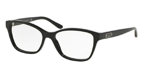 7pm view of Ralph Lauren Eyeglasses - CORE COLLECTION CAT EYE RL6129 5001 52 BLACK CLEAR DEMO LENS Women's Full Rim Butterfly