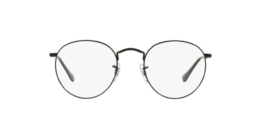 6eb7ff70253 3pm view of Ray-Ban Optical Eyeglasses - ROUND METAL ICONS RX3447V 2503 47  MATTE
