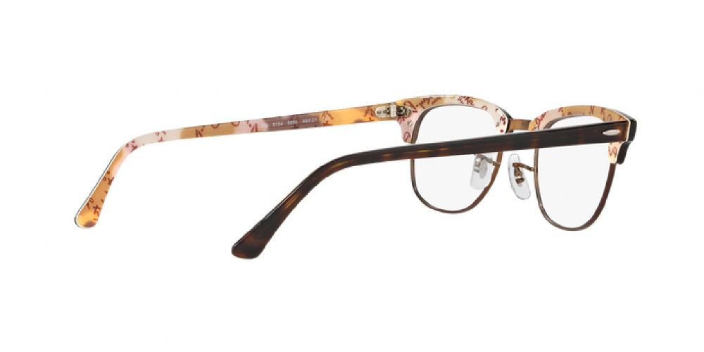 22aac60a643 1pm view of Ray-Ban Optical Eyeglasses - CLUBMASTER ICONS RX5154 5650 51  TORTOISE HAVANA