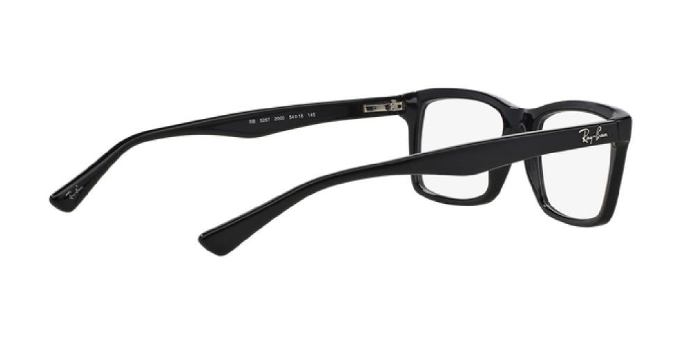 4a7207ce55 ... clearance 1pm view of ray ban optical eyeglasses highstreet rx5287 2000  52 black clear demo 05d8d
