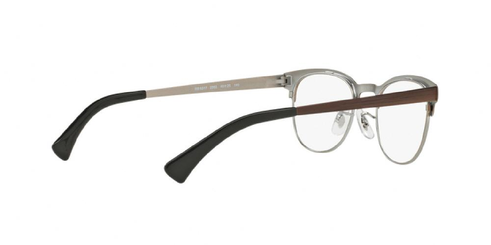 438d77f5df 1pm view of Ray-Ban Optical Eyeglasses - ICONS ROUND RX6317 2862 51  GUNMETAL ON