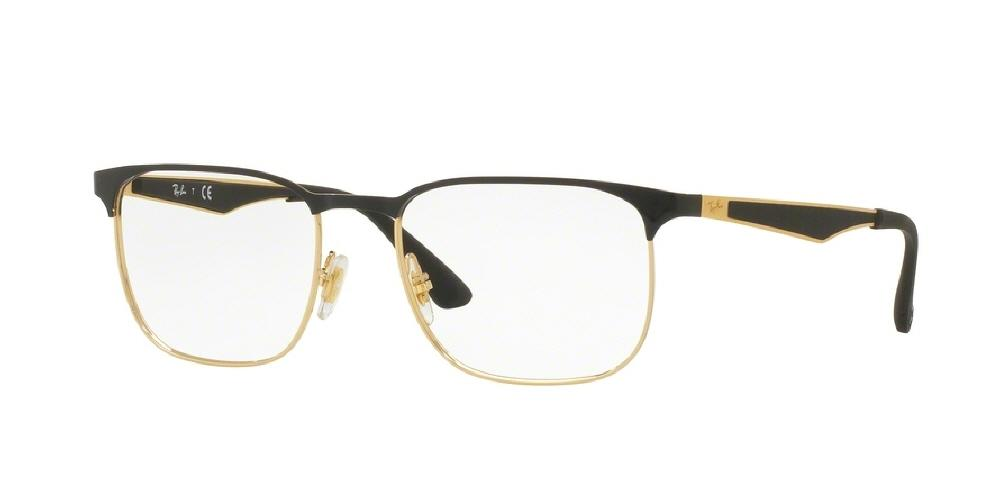 09ef8083cd 7pm view of Ray-Ban Optical Eyeglasses - ACTIVE RX6363 2890 52 GOLD TOP ON
