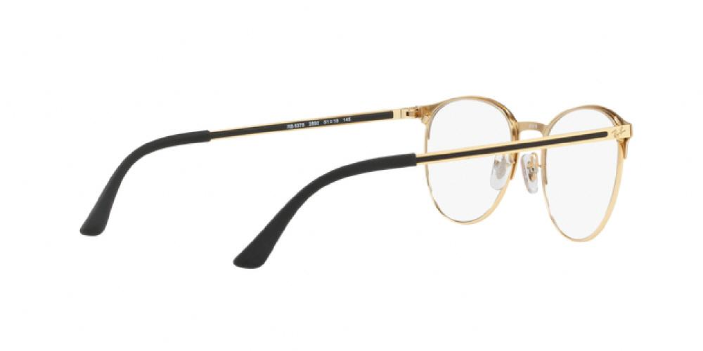 42d73bcd9d 1pm view of Ray-Ban Optical Eyeglasses - YOUNGSTER RX6375 2890 51 GOLD TOP  ON