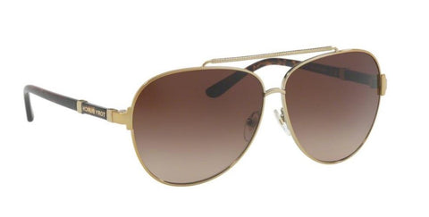 Right Pivot View of Tory Burch 0TY6056 316013 59 GOLD BROWN GRADIENT Pilot Sunglasses