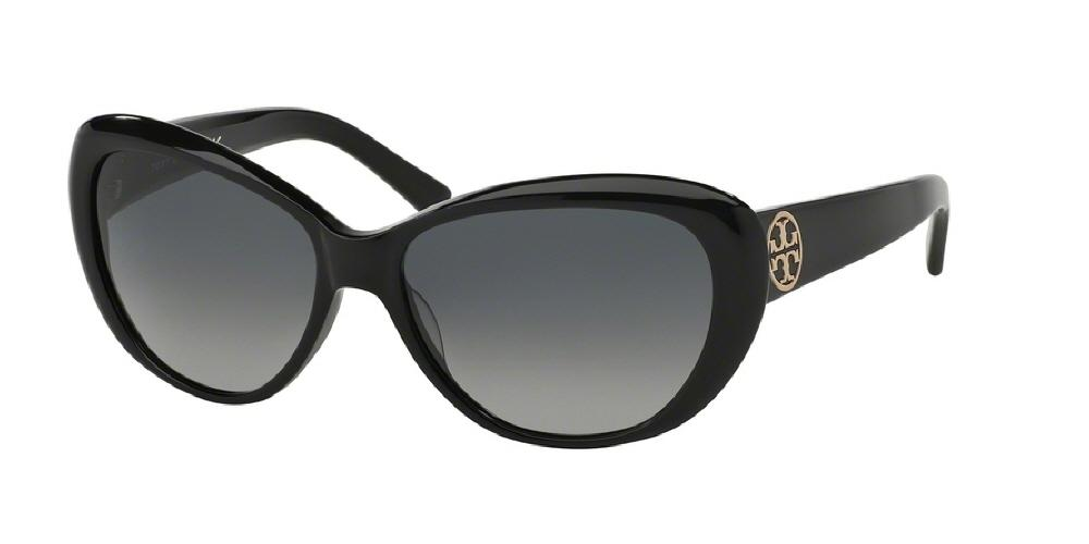 c4f3fa925faef 7pm view of Tory Burch Sunglasses - CLASSIC (TY) CAT EYE TY7005 501