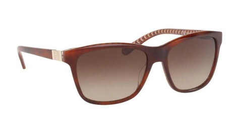 Right Pivot View of Tory Burch 0TY7031 165813 57 TORTOISE ORANGE ZIG ZAG DARK BROWN GRADIENT CLASSIC (TY) Square Sunglasses