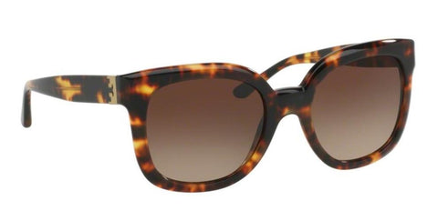 Right Pivot View of Tory Burch 0TY7104 148113 54 VINTAGE TORTOISE DARK BROWN GRADIENT TORY BURCH Square Sunglasses