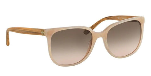 Right Pivot View of Tory Burch 0TY7106 165113 57 BLUSH MOONSTONE BROWN ROSE GRADIENT Square Sunglasses