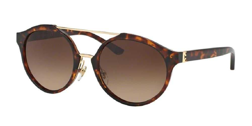 462f44d64 Tory Burch Sunglasses GOLD GRADIENT DARK HAVANA TORTOISE BROWN