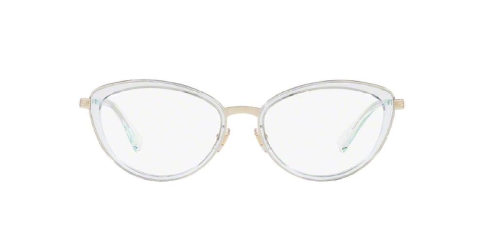1f2441612617 3pm view of Versace Eyeglasses - FUN ABOUT TOWN CAT EYE VE1244 1405 53 PALE  GOLD