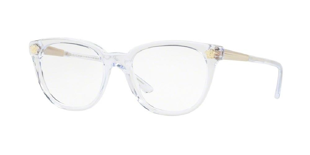 7pm view of Versace Eyeglasses - FUN ABOUT TOWN VE3242 148 52 TRANSPARENT CLEAR DEMO LENS Women's Full Rim