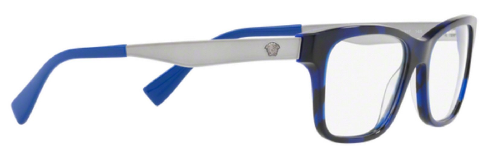 34c1379545 3pm view of Versace Eyeglasses - FUN ABOUT TOWN VE3245 5237 53 TORTOISE  HAVANA ELECTRIC BLUE