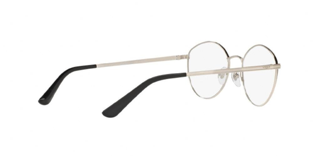 1pm view of Vogue Eyeglasses - IN VOGUE VO4025 352 53 BLACK SILVER CLEAR  DEMO LENS 315123f86e8