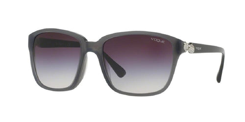7pm view of Vogue Sunglasses - TIMELESS VO5093BF 247836 56 GRADIENT GREY CRYSTAL PINK DARK GRY Women's Square Full Rim