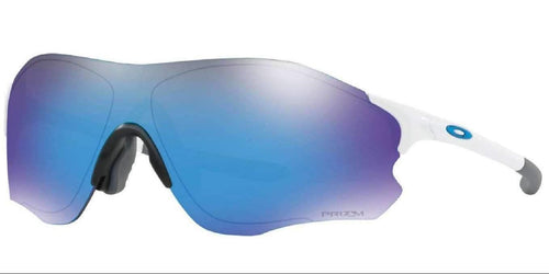 Oakley EVZERO PATH (A) POLISHED WHITE PRIZM SAPPHIRE BLUE OO9313-15 38