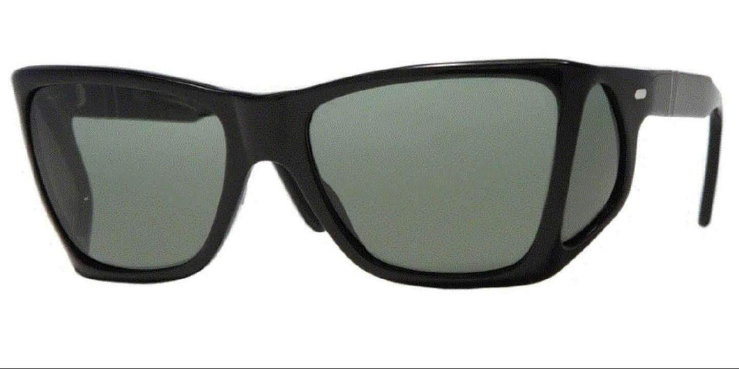 Persol 0PO0009 95/31 57 BLACK CRYSTAL GREEN ICONA Sunglasses