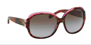 Michael Kors MK6004 300368 59 TORTOISE PINK PURP BROWN PURPLE GRADIENT KAUAI GLAM Square Sunglasses