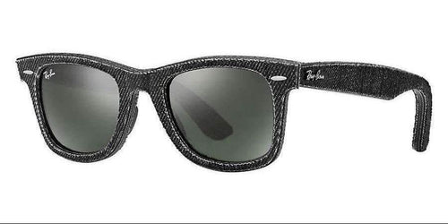 Ray Ban Wayfarer Black Denim Sunglasses RB2140 1162