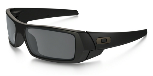 Oakley Gascan Matte Black with Black Iridium Lenses oo9014 24-435