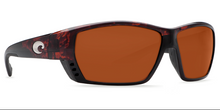 COSTA DEL MAR Tuna Alley Tortoise with Copper Lens 580 Glass or Plastic