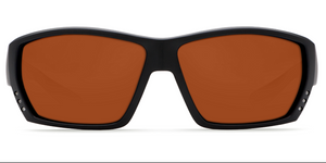 COSTA DEL MAR Tuna Alley Matte Black with Copper Lens 580 Glass or Plastic