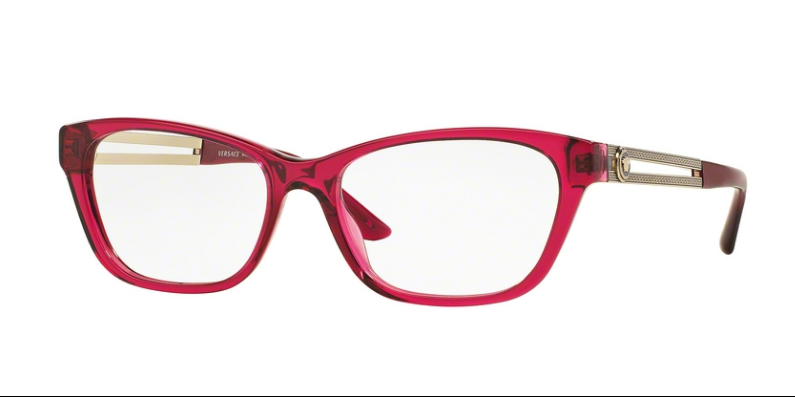 Versace VE 3220 5097 52 mm Fuchsia Crystal Pink Red