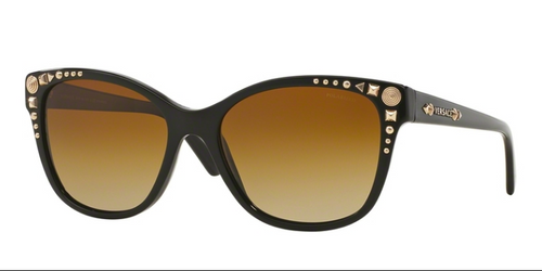 Versace VE 4270 GB1/T5 56 mm Black Brown Gradient Polarized