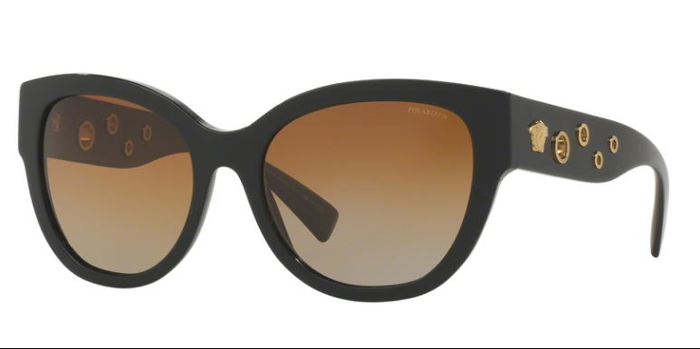 Versace VE 4314 GB1/T5 56 mm Black Brown Gradient Polarized