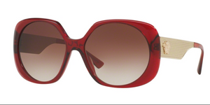 Versace VE 4331 388/13 57 mm Transparent Red